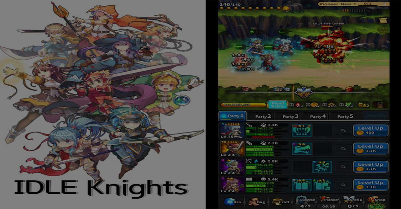 Idle Knights Hack 2019 - Online Cheat For Unlimited Resources